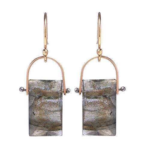 Lulu Designs Labradorite Earrings