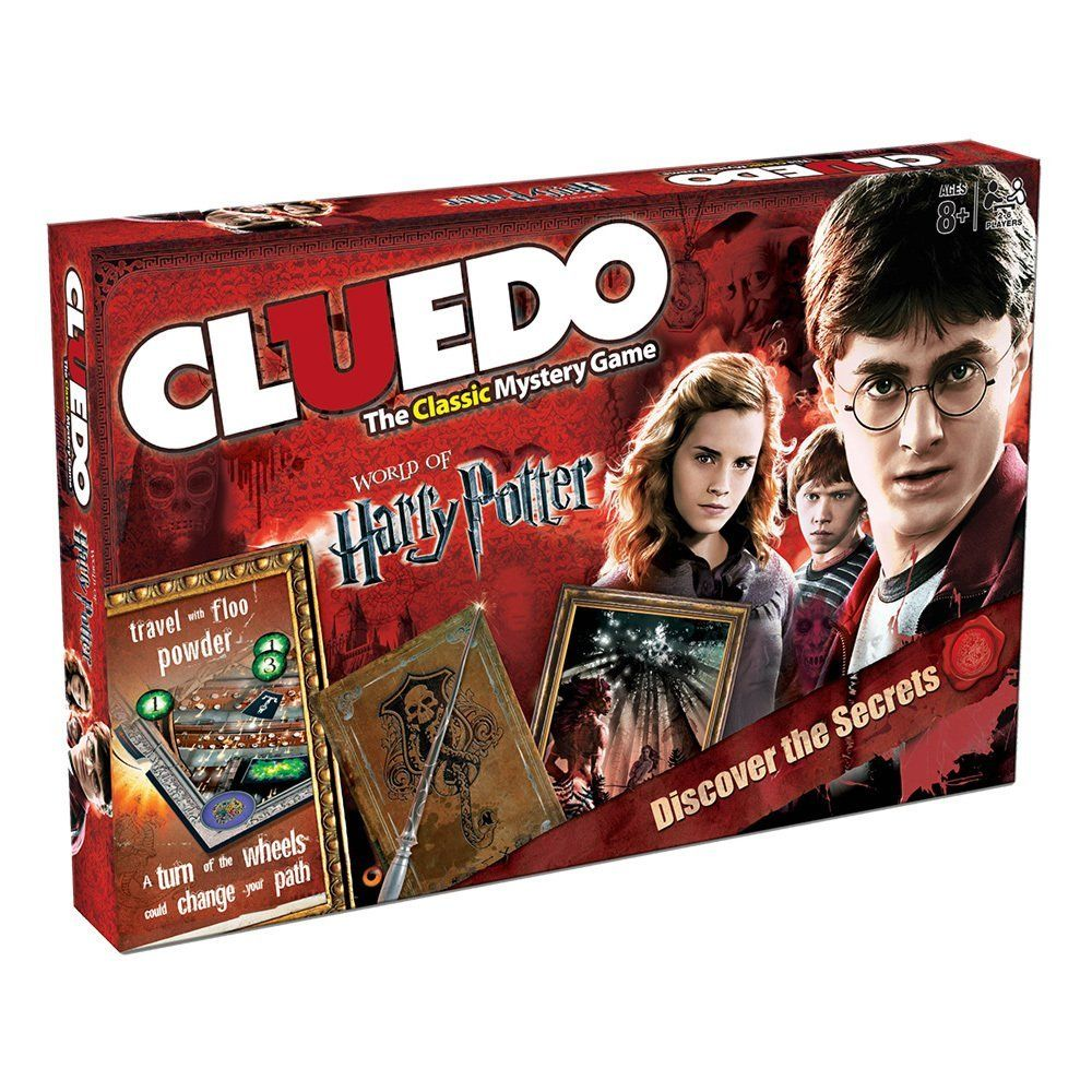 Cluedo Harry Potter Board Game from Amazon. harrypotter