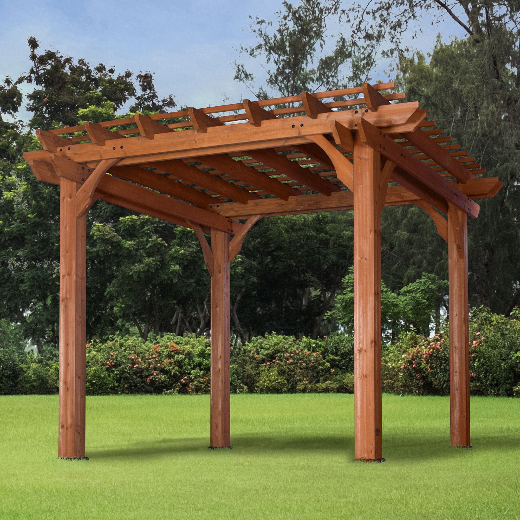10 X 10 Pergola Outdoor Pergola Pergola Patio Pergola Plans