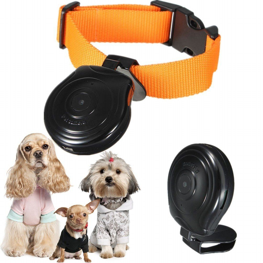 Kungfu Mall High Digital Pet Collar Camera Video Recorder