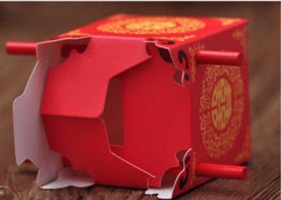 100 X Wedding Favor Box