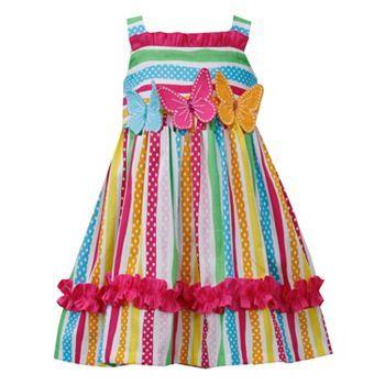 Bonnie Jean Butterfly Sundress - Girls 4-6x