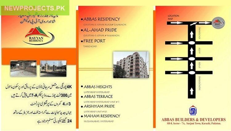 Rayyan Residency Surjani Town Karachi   New Projects in