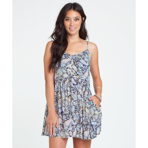 Billabong Women's Luv Confession Dress ($33) ❤ liked on Polyvore featuring  dresses, off