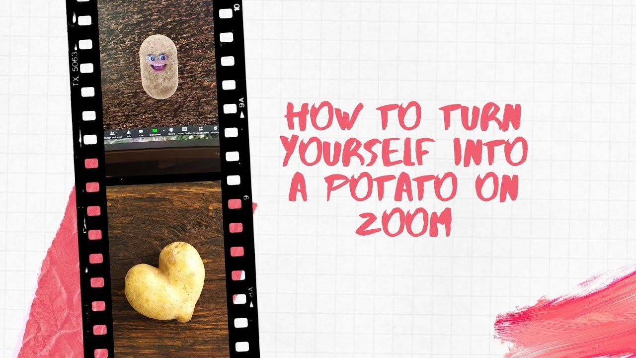 How To Turn Yourself Into A Potato In Zoom Online Therapy Turn Ons Speech Therapy