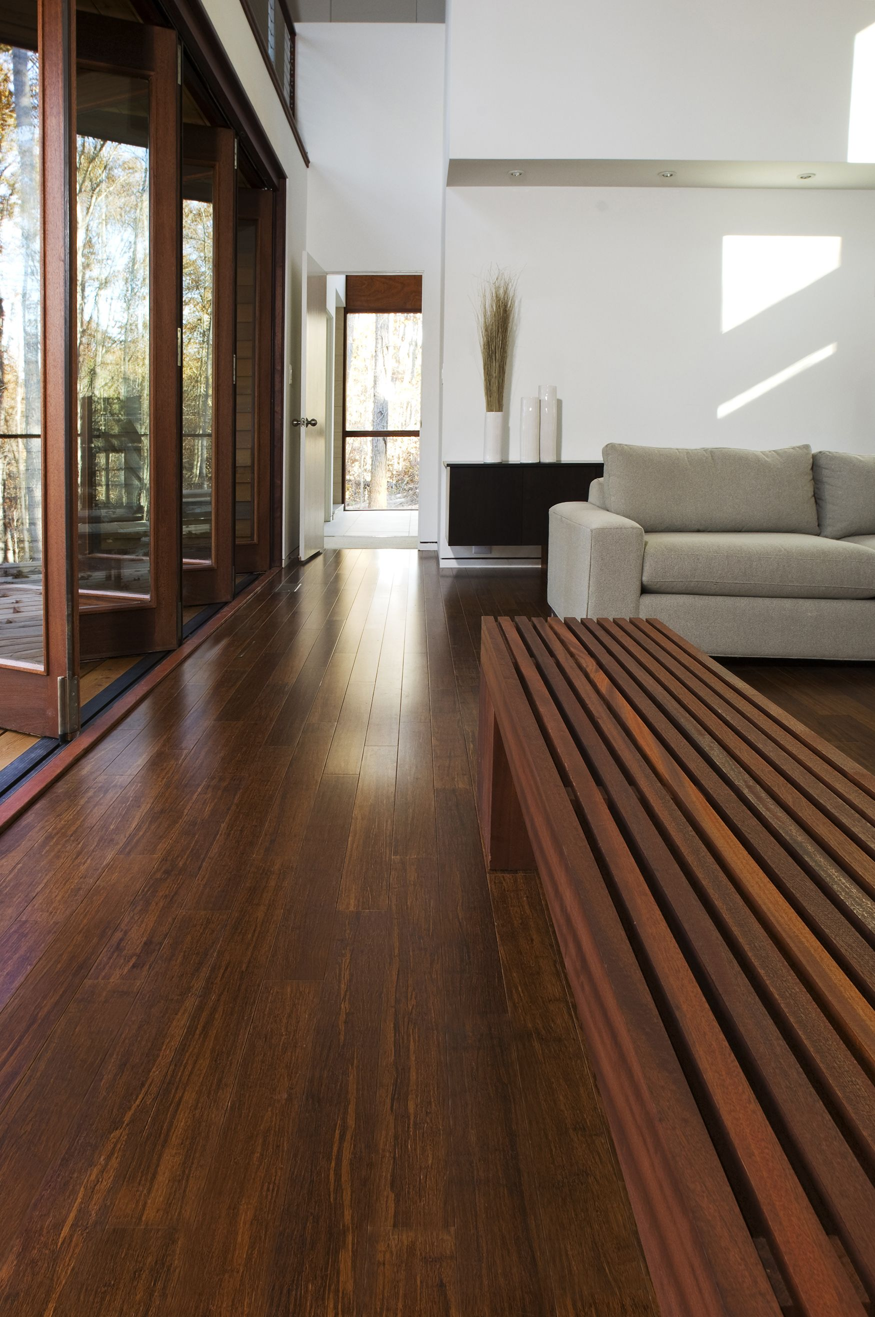 Strand Bamboo Flooring at Dwell House by Alex Maness
