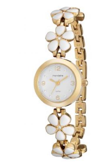 1653495062b 94900LPMVDM1 Relógio Feminino Mondaine Analógico - Pulseira com Cerâmica  Branca