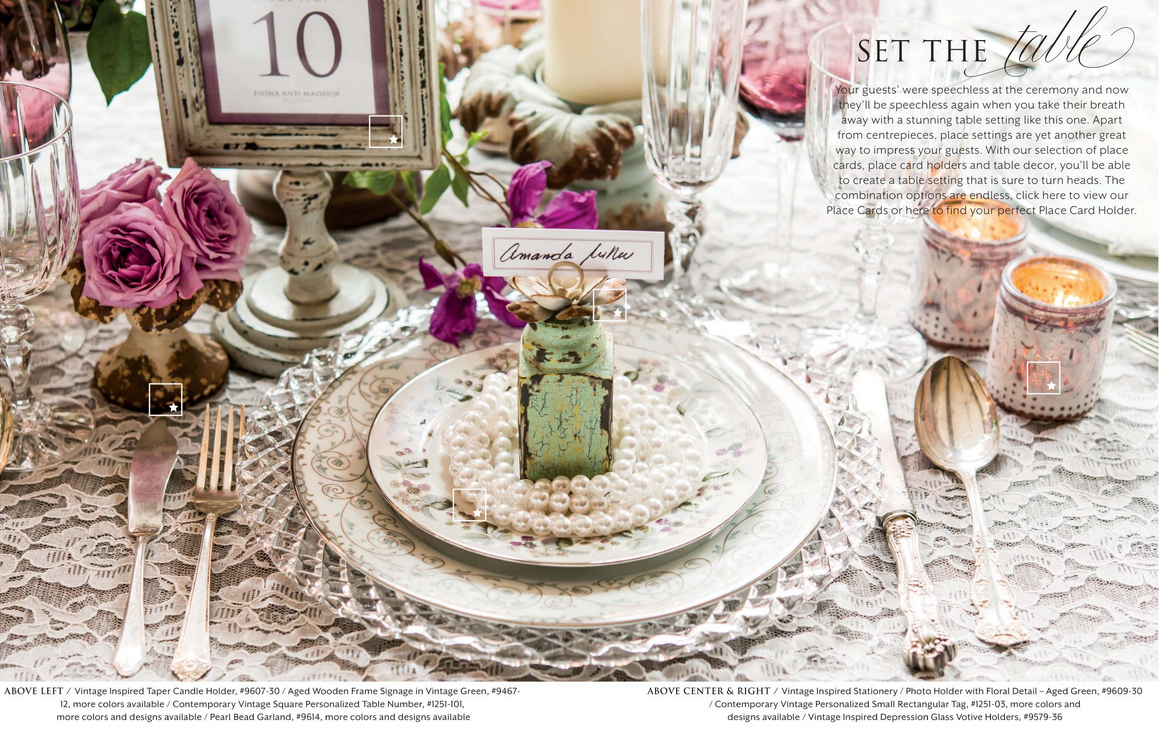 The Most Beautiful Vintage Inspired Wedding Table Setting Ever & The Most Beautiful Vintage Inspired Wedding Table Setting Ever ...