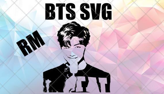 Download RM BTS Digital Download Dxf Svg Pdf Jpeg Png Eps in 2020 ...