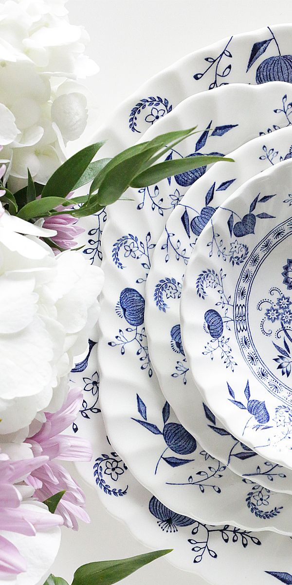 English Blue Nordic Dinnerware Set By Johnson Brothers - Fine China And Glassware - Dining \u0026 & English Blue Nordic Dinnerware Set By Johnson Brothers - Fine China ...