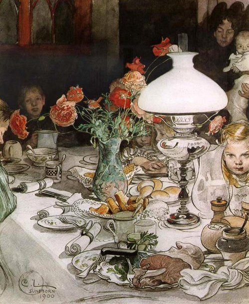 Carl Larsson (1853 – 1919, Swedish)