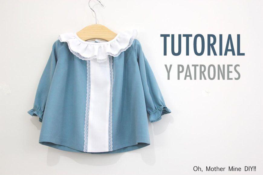 DIY Cómo hacer vestido niña (patrones gratis) | ropa bb | Pinterest ...