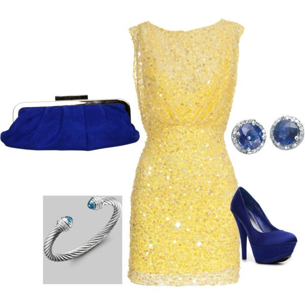 Classic sapphire w/ a twist of yellow!, created by mfarida