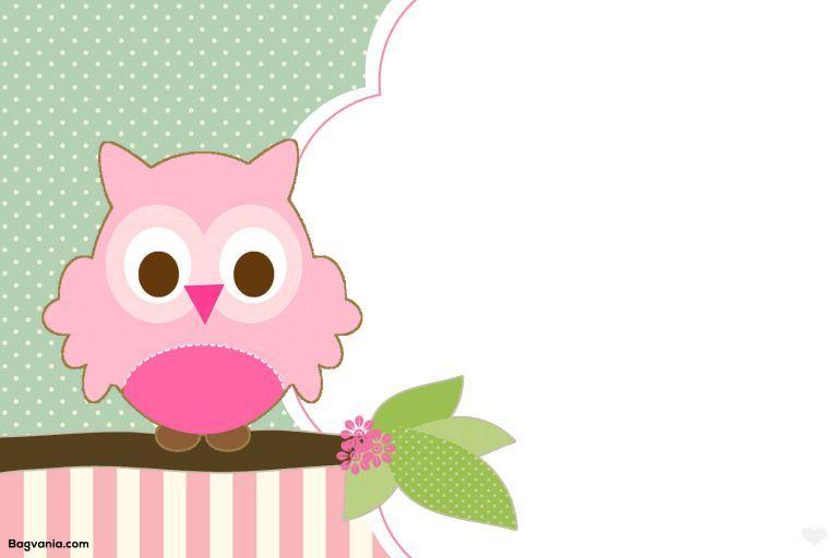 FREE Printable Owl Birthday Invitation   Owl baby shower ...