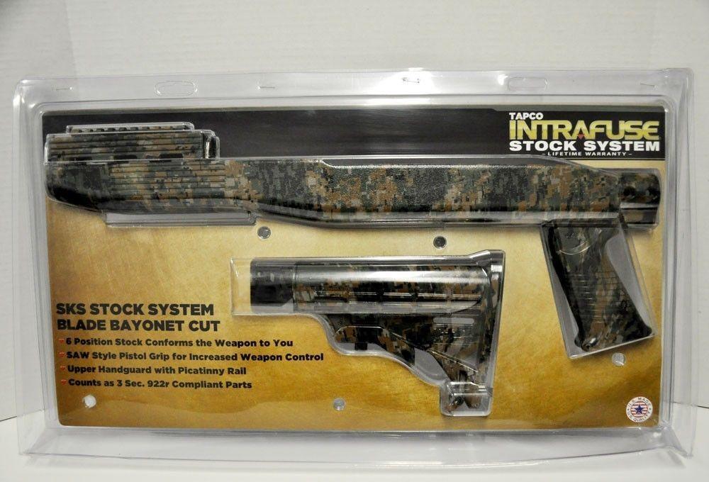 TAPCO STK66168 Stock System w-Bayonet CUSTOMIZED with Hydro