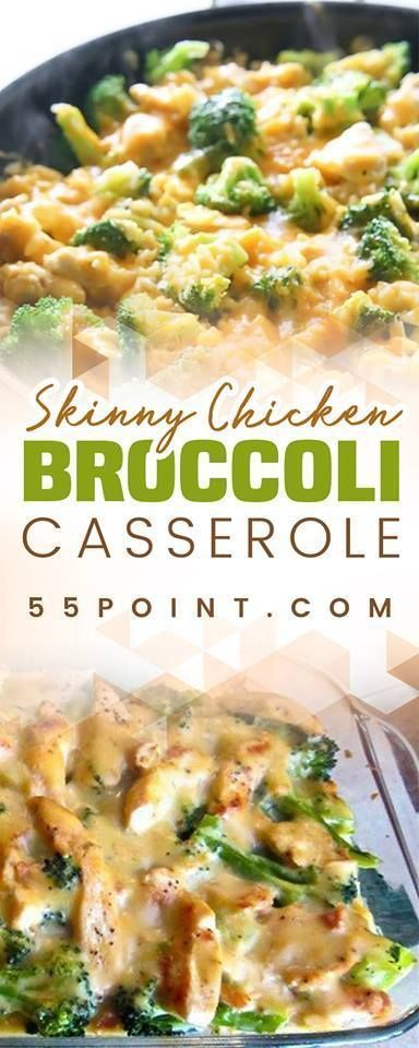 Skinny Chicken Broccoli Casserole - Casserole Broccoli  -8868