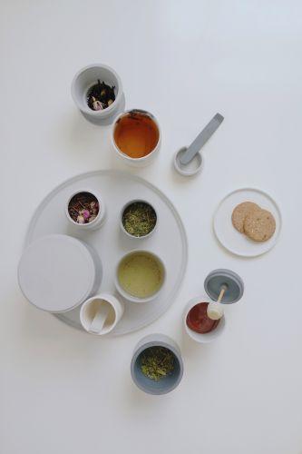 Tea Set - 2015 parian, stains, wood