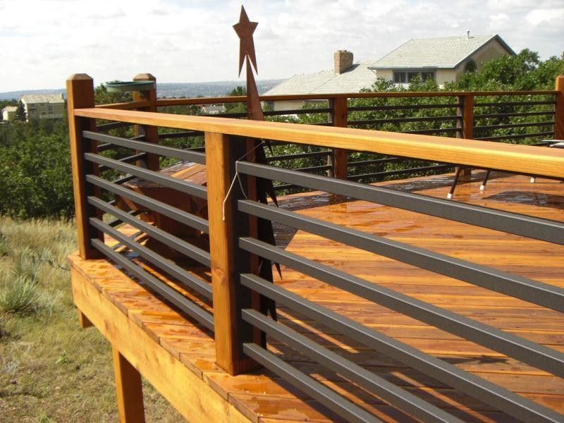 Horizontal Deck Rail Ideas Google Search With Images Deck