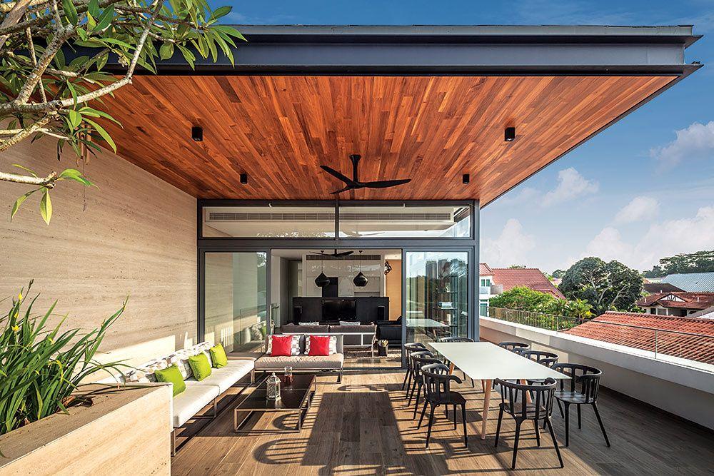 Far Sight House Diseño De Terraza Casas Y Techos Para