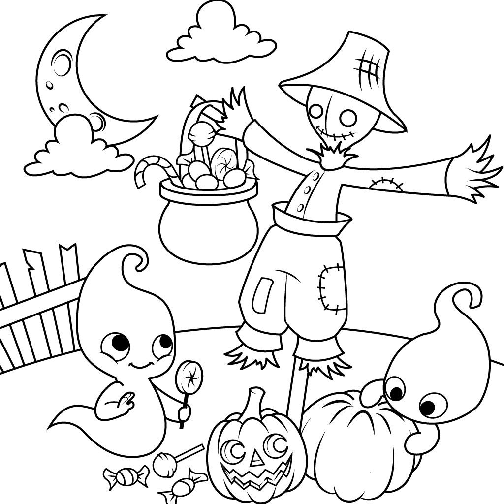 Halloween Coloring Pages for Kids for Android,iOS & Windows Phone ...