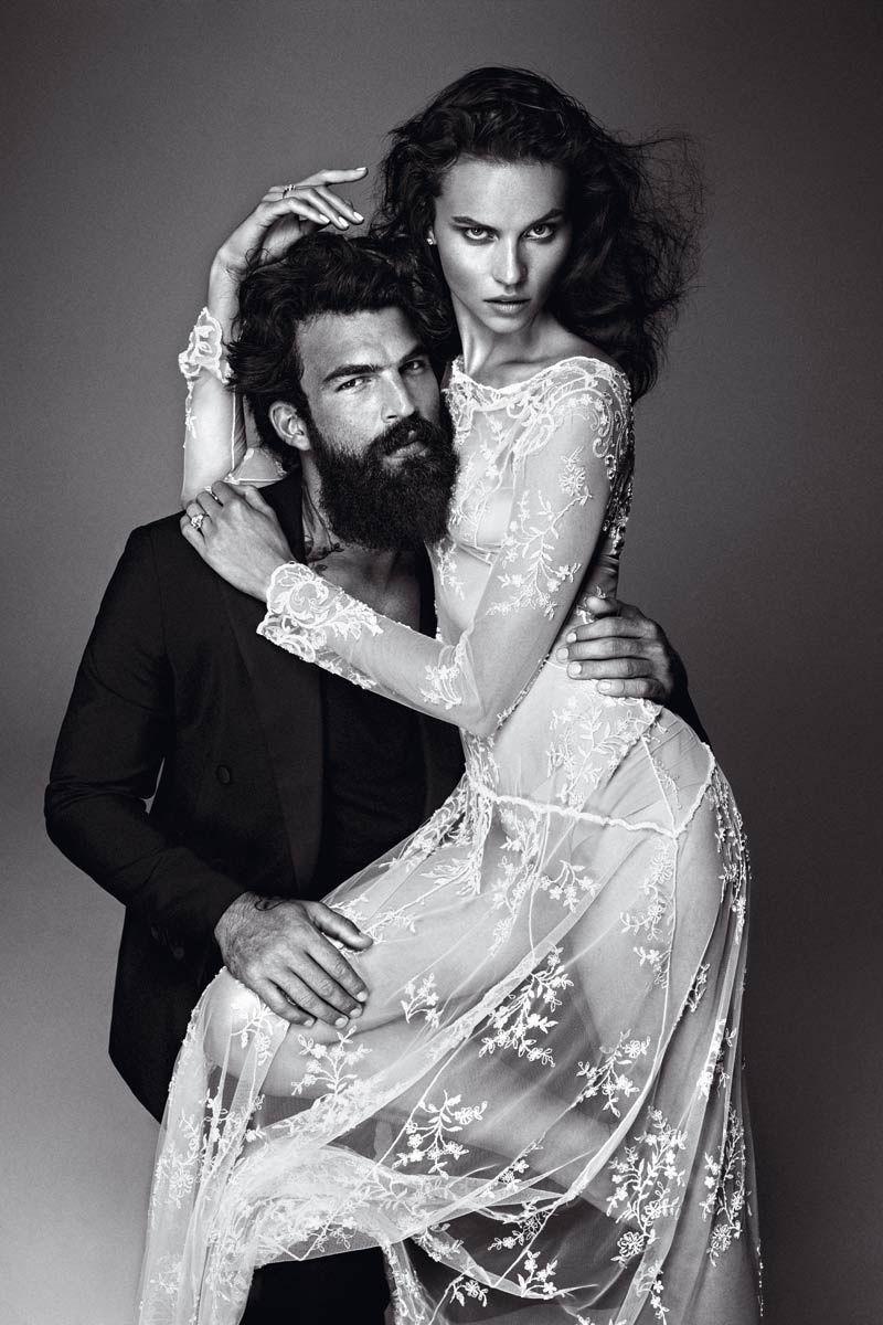 Красивые фото пар в журналах