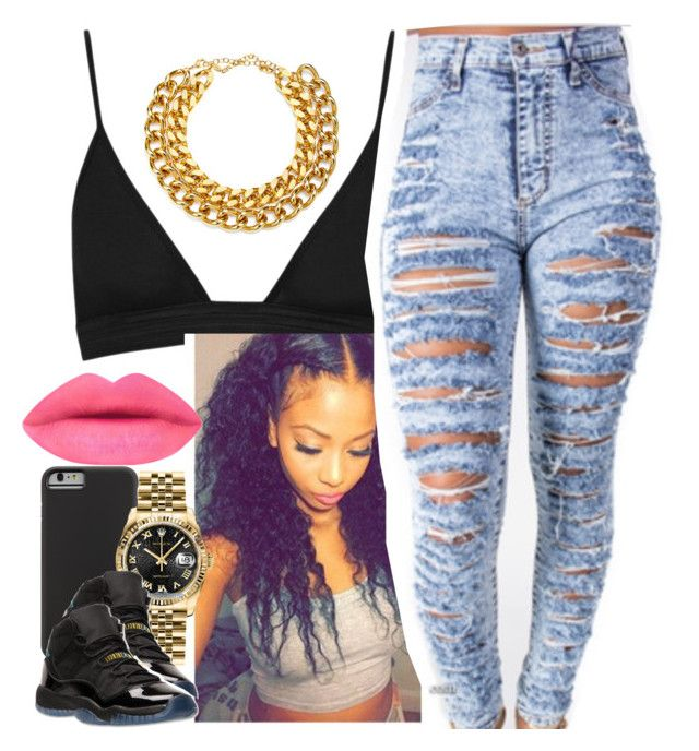 """✨"" by newtrillvibes ❤ liked on Polyvore featuring Case-Mate, Rolex and A.V. Max"