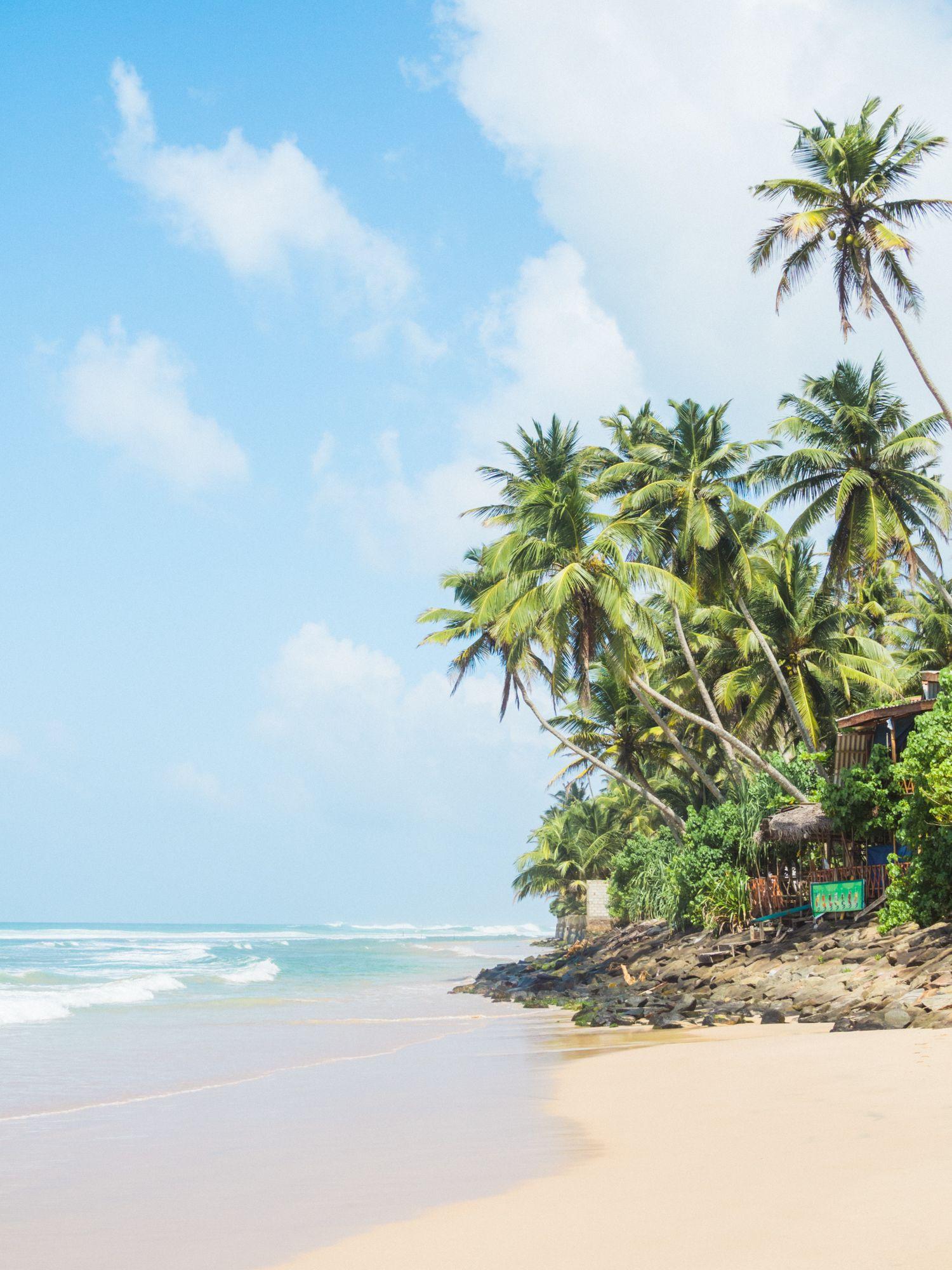Tropical island life! Kabalana beach, Ahangama, Sri Lanka
