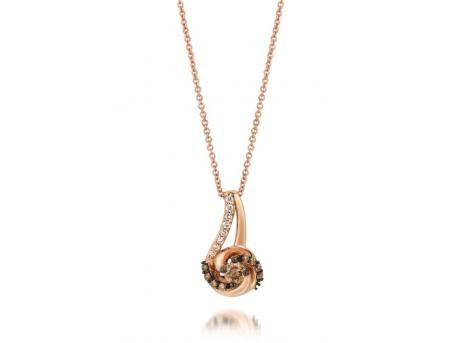 Levian chocolate diamond pendant in strawberry gold rings from levian chocolate diamond pendant in strawberry gold rings from mead jewelers woodward ok aloadofball Gallery