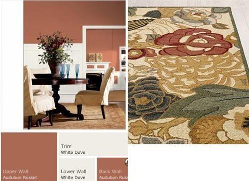 Benjamin Moore Audubon Russet Tuscan Colors Rust Color Paint Office