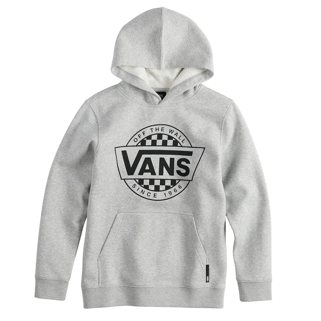 Boys 8 20 Vans Pullover Hoodie | Trendy hoodies, Vans hoodie
