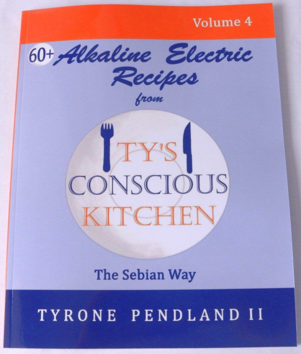 Ty's New Alkaline Electric Recipes Vol  4 Cookbook Is Here