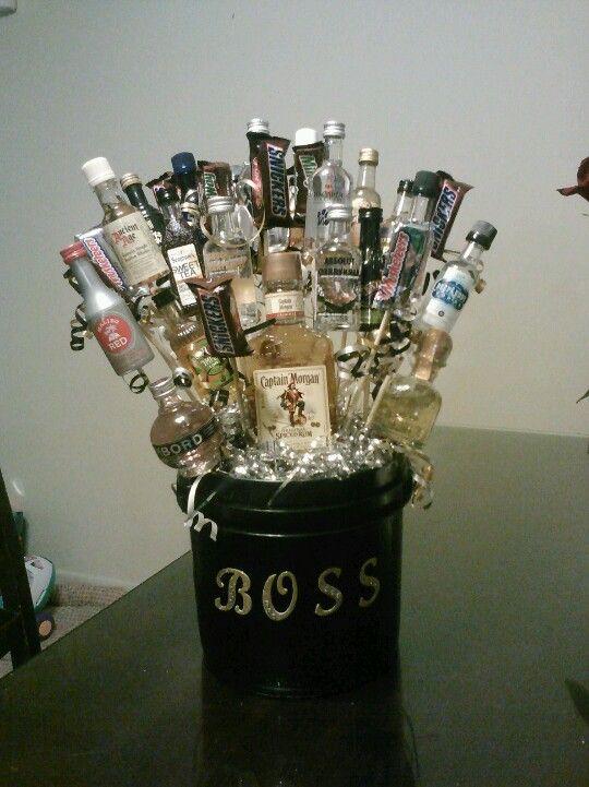Happy Birthday Booze : happy, birthday, booze, Kristie, Hatcher, Ideas, Birthday, Alcohol, Gifts,, Liquor, Bottle