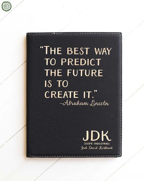 251 & Gift for Boss Custom Notepad Portfolio Co-Worker Employee ...