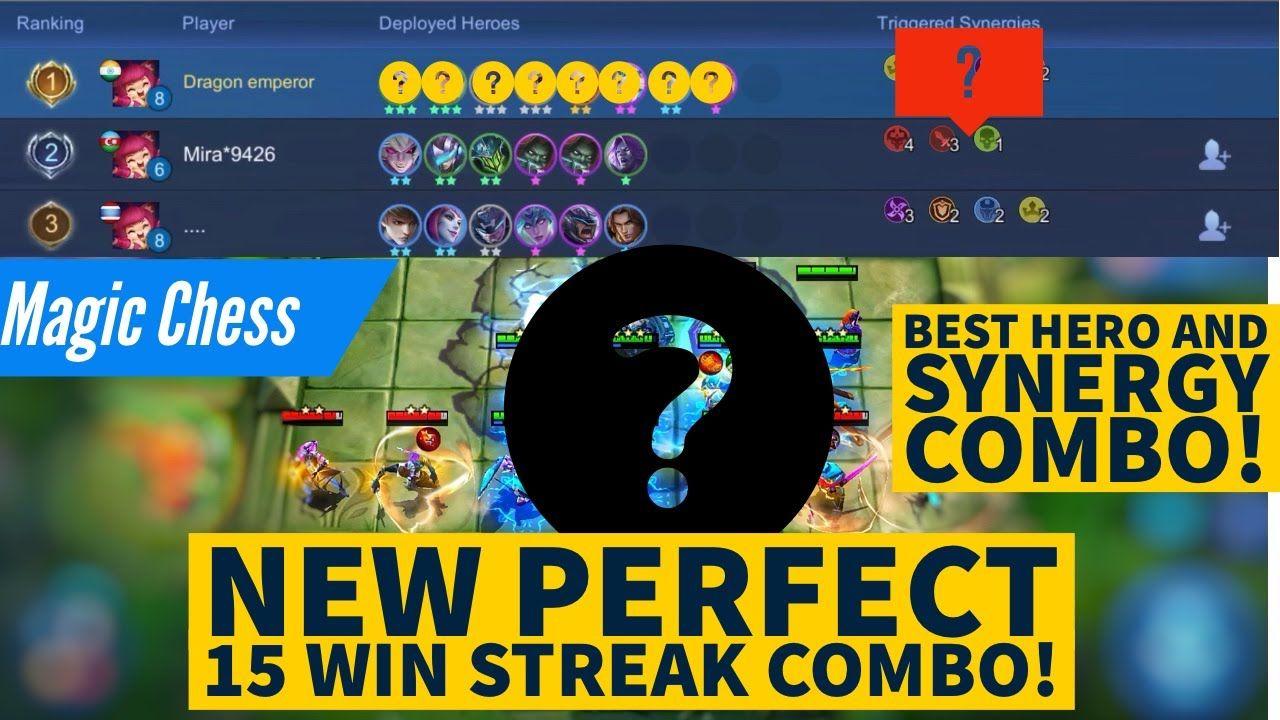 MAGIC CHESS New Perfect 15 Win Streak Bo Best Hero