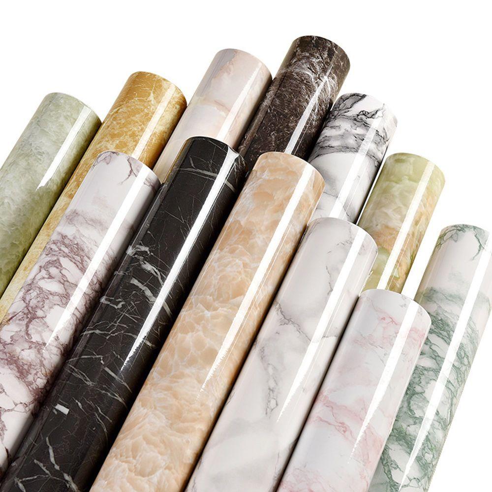 60cm X 5meters Marble Vinyl Self Adhesive Wallpaper For Kitchen Cupboard Modern Self Adhesive Wallpaper Marble Vinyl Vinyl Wallpaper
