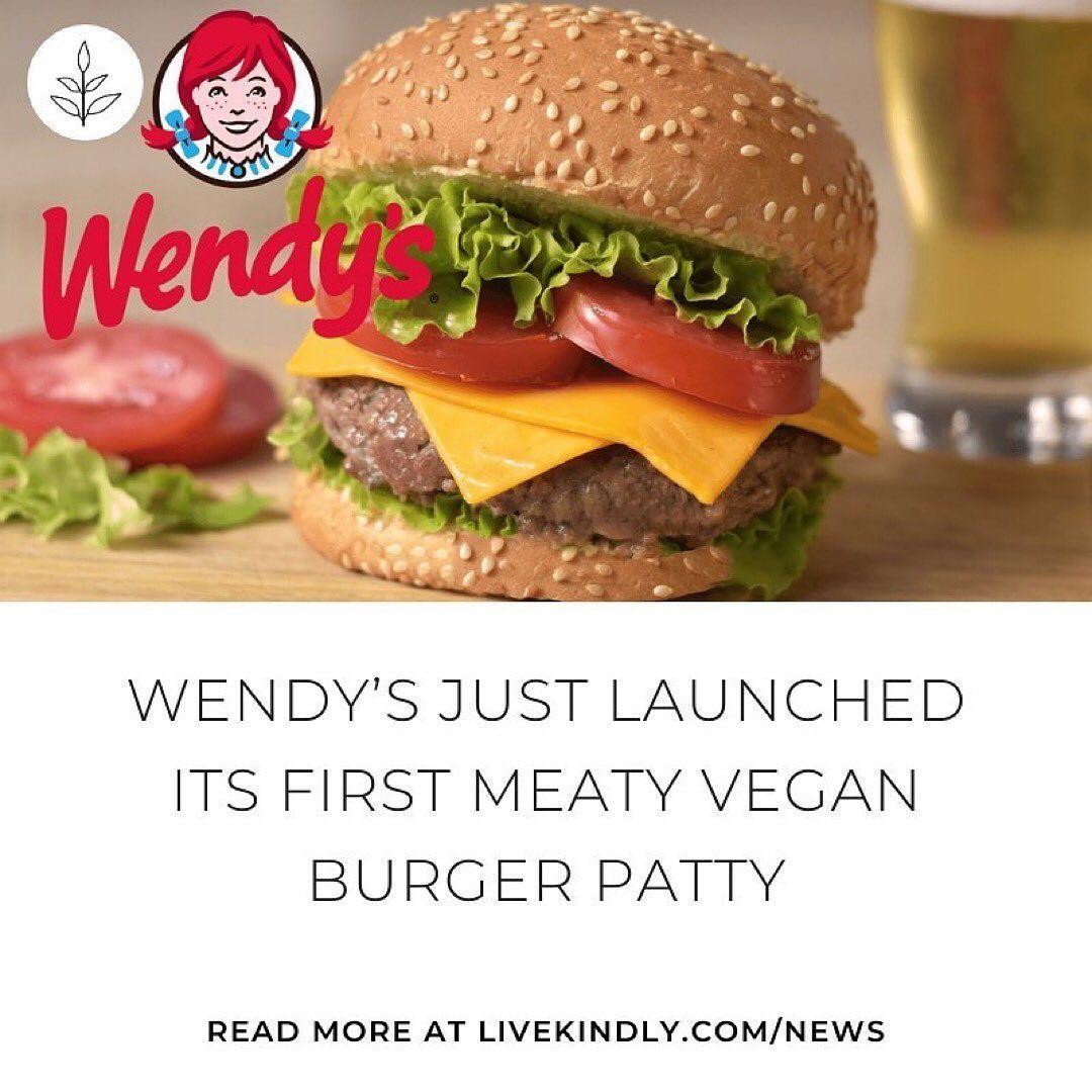 Wendy S Canada Has Secretly Added A Vegan Patty To Their Menu Have You Tried It Yet Vegan Patties Vegan Recipes Going Vegan
