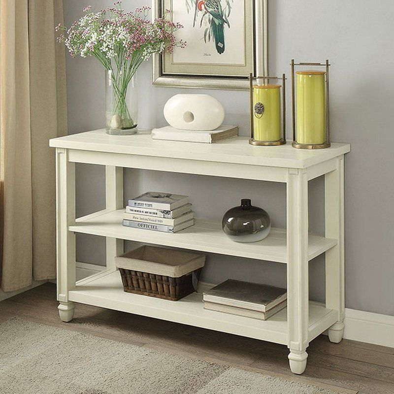 Corsi 48 Solid Wood Console Table Wood Sofa Table White Sofa Table Wood Console Table
