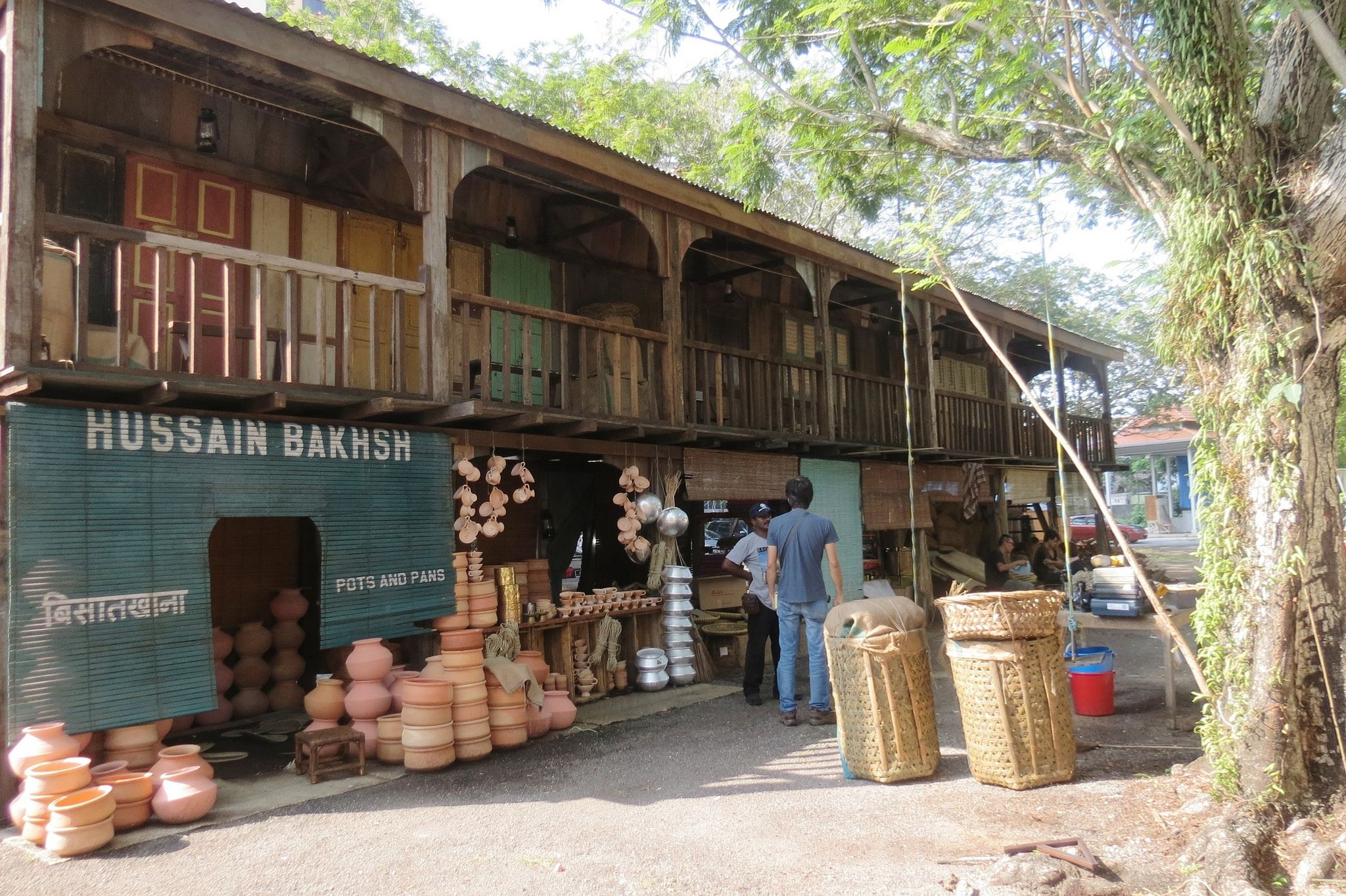 """On set in Malaysia: """"The Indian Quarter,"""" as seen on Indian Summers   Courtesy of Rebecca Eaton for MASTERPIECE"""