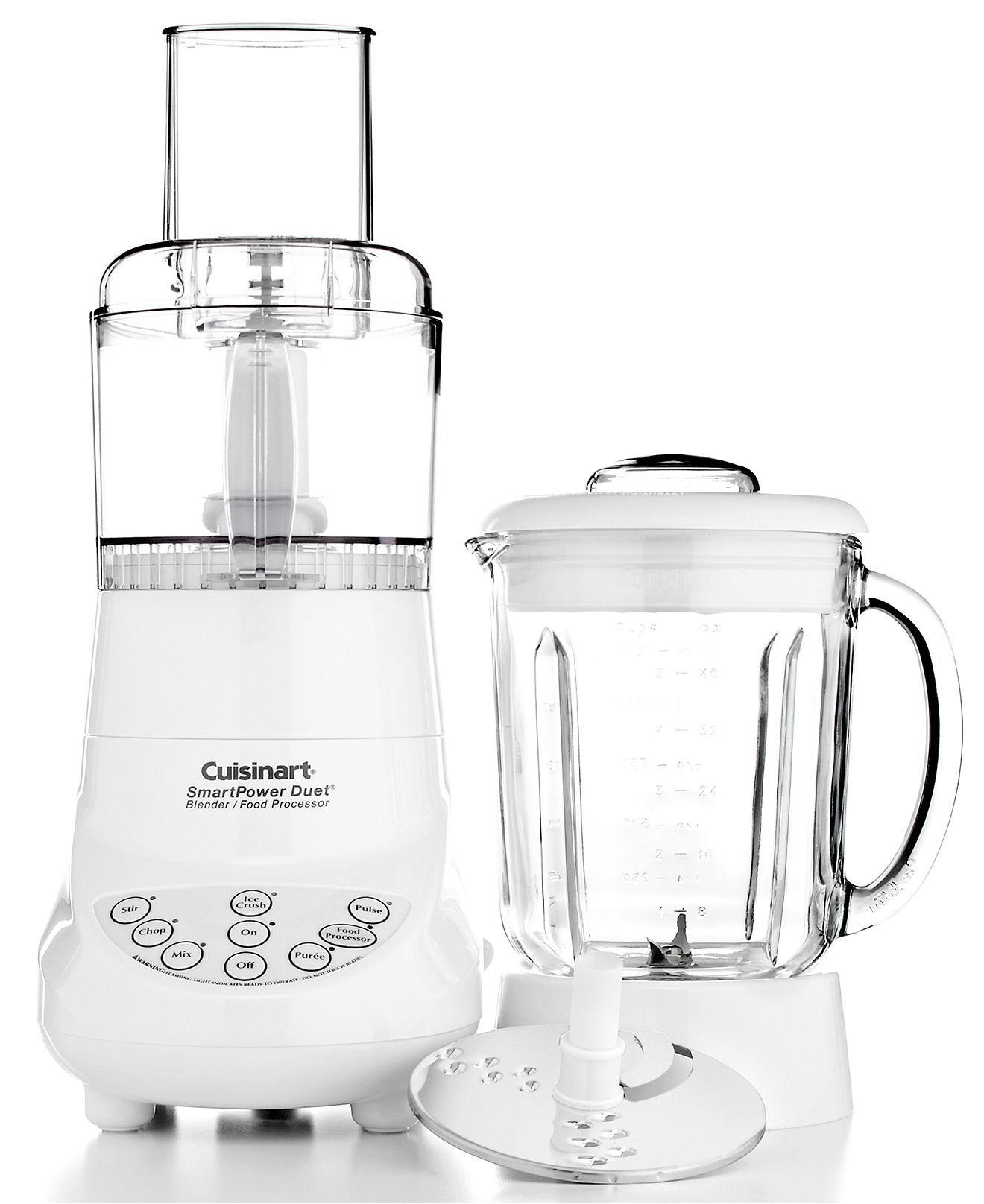 Cuisinart blender food processor got the blender