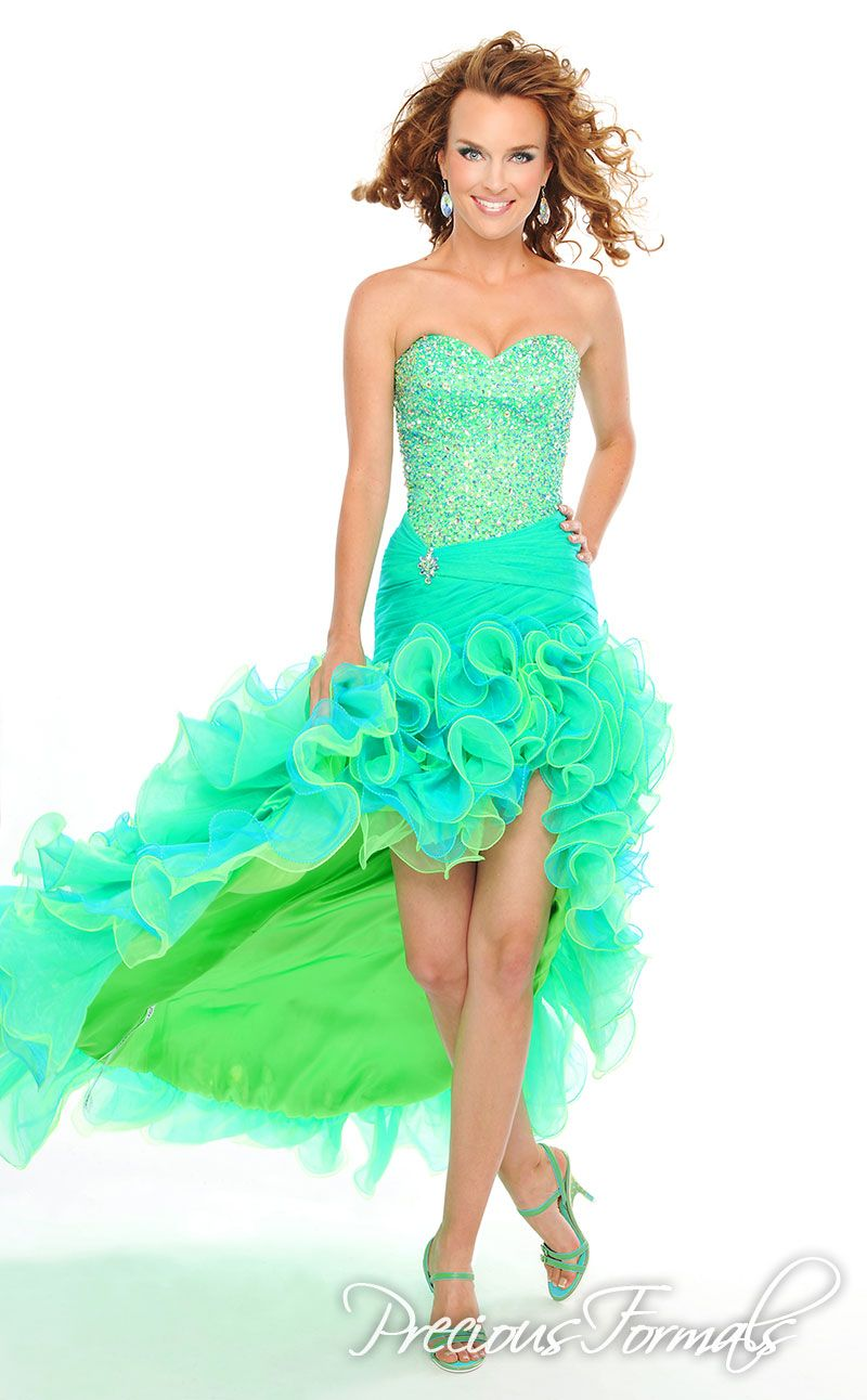 love the color!!! | Prom!!! | Pinterest | Formal, Unique prom ...