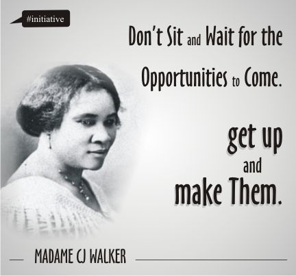 Madam Cj Walker Quotes Stunning Madame C J Walker  Tumblr  Cool  Pinterest  Quote Pictures . Design Ideas