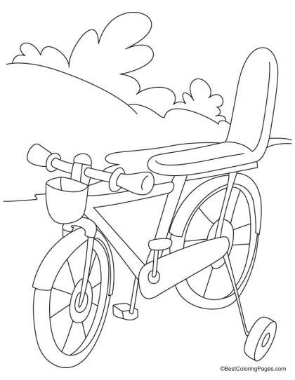 Printable Bike Bmx Coloring Page For Kids Printable Coloring