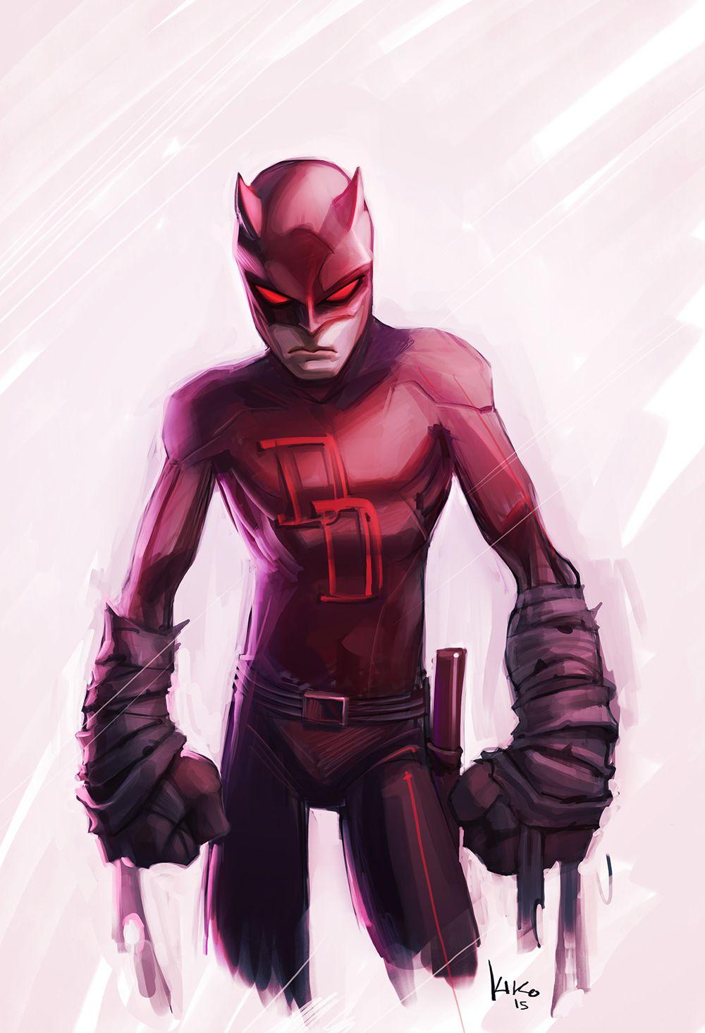 Daredevil - Cartoon Style