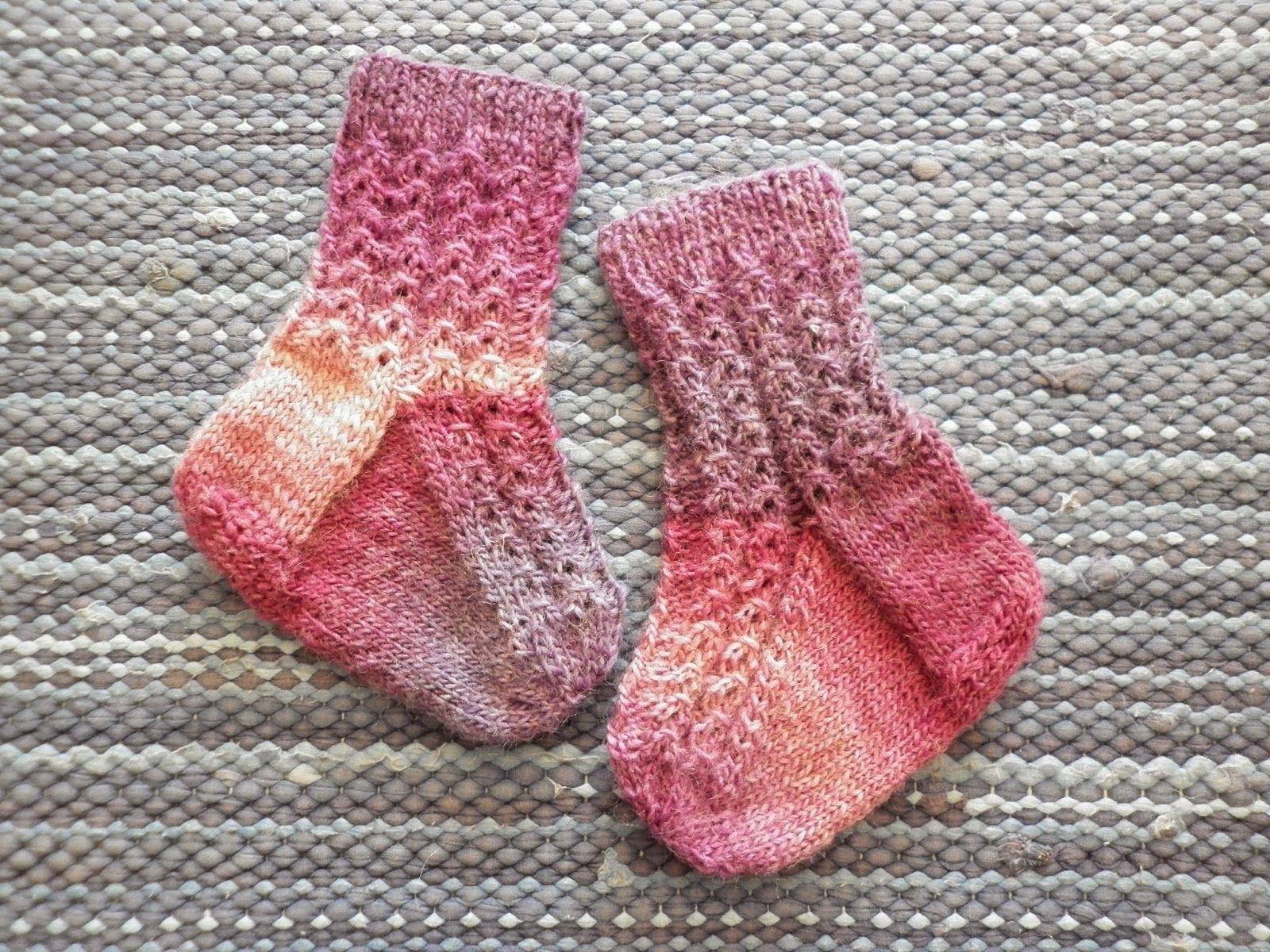 Baby socks with a little twist :)