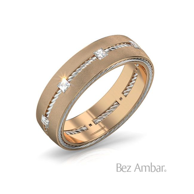 Wedding Gift For Friend Who Has Everything: Interval Men's Wedding Band With Blaze Diamonds In 2020