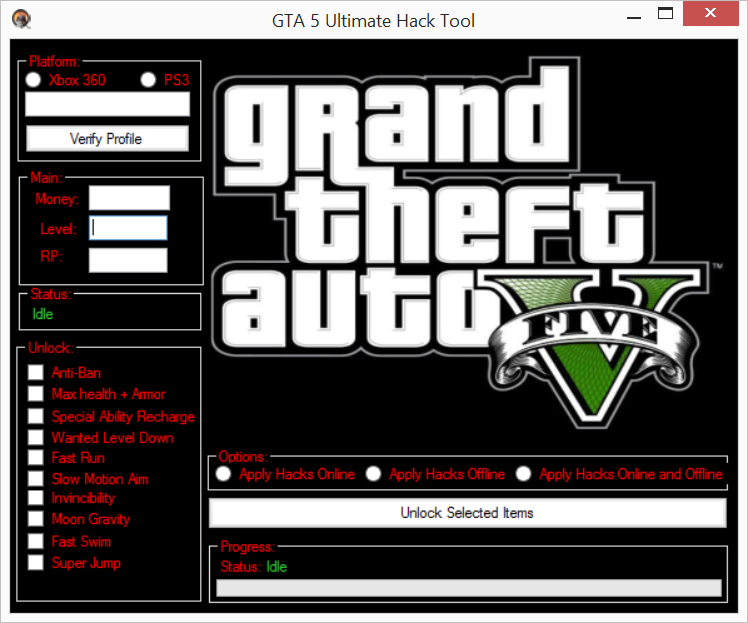 GTA V Hack and Cheat: GTA 5 Cheats PC *New* | Go and Play