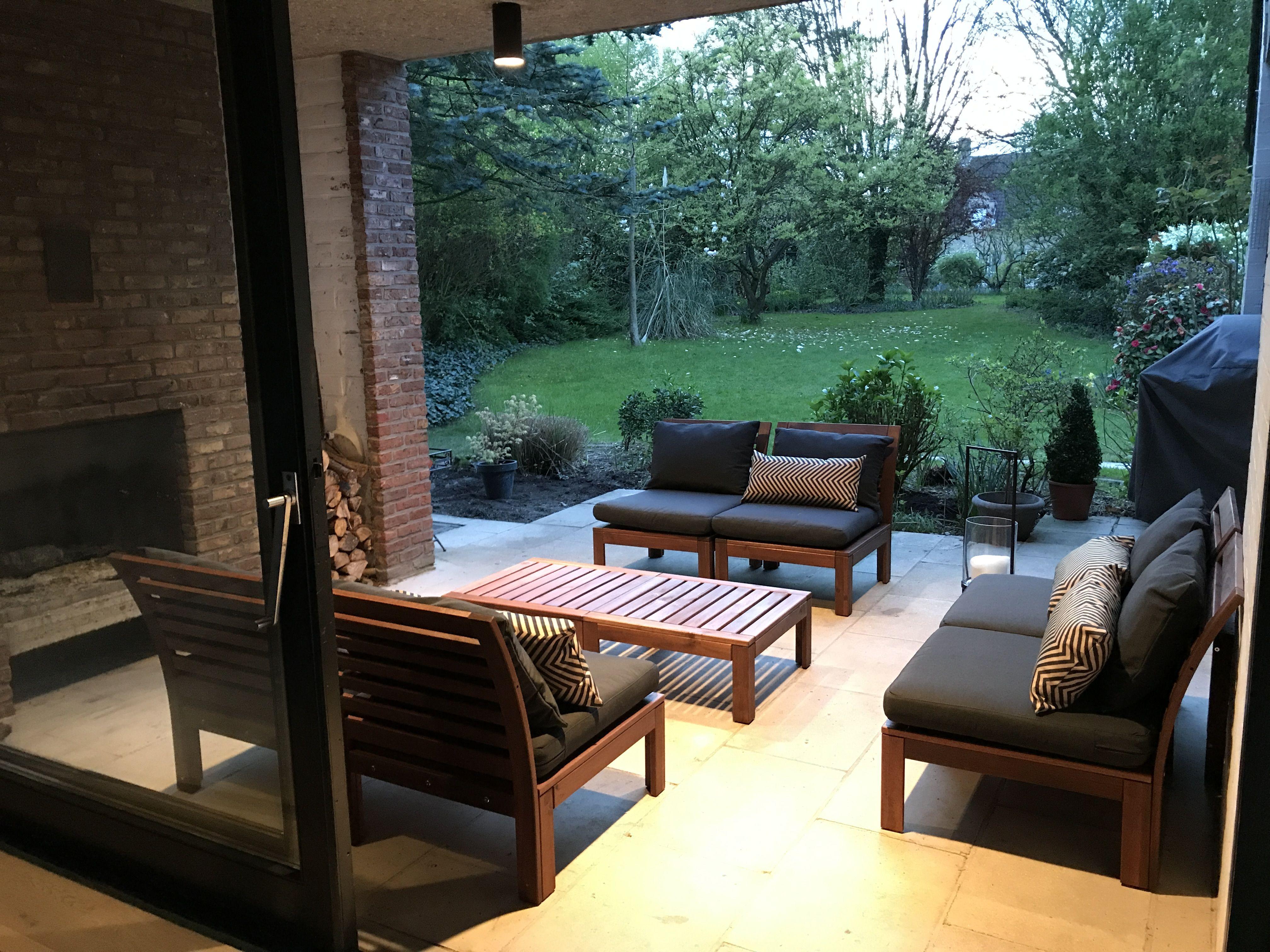 Ikea Applaro Summer 2107 Ikea Patio Rustic Outdoor Furniture Ikea Patio Furniture #outdoor #living #room #set
