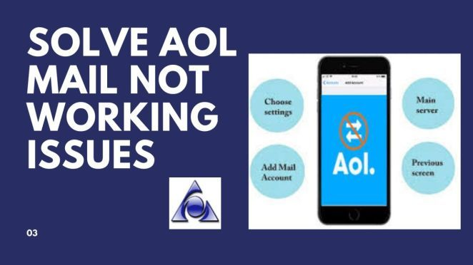 Complete Suggestions for AOL Mail not Working AOL Mail is
