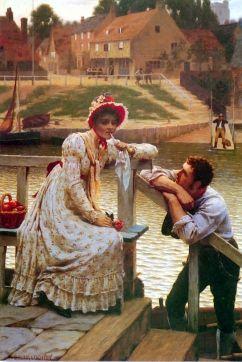 Courtship ~ Edmund Blair Leighton