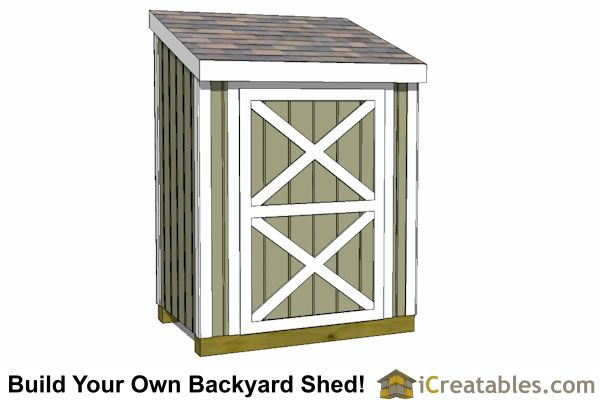 3x6 lean to shed front | Shed | Lean to shed plans, Lean to